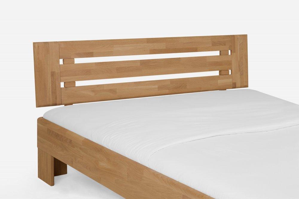 Dvoulůžková postel Avantgarde system 390.KT - (masivní divoký dub - med)
