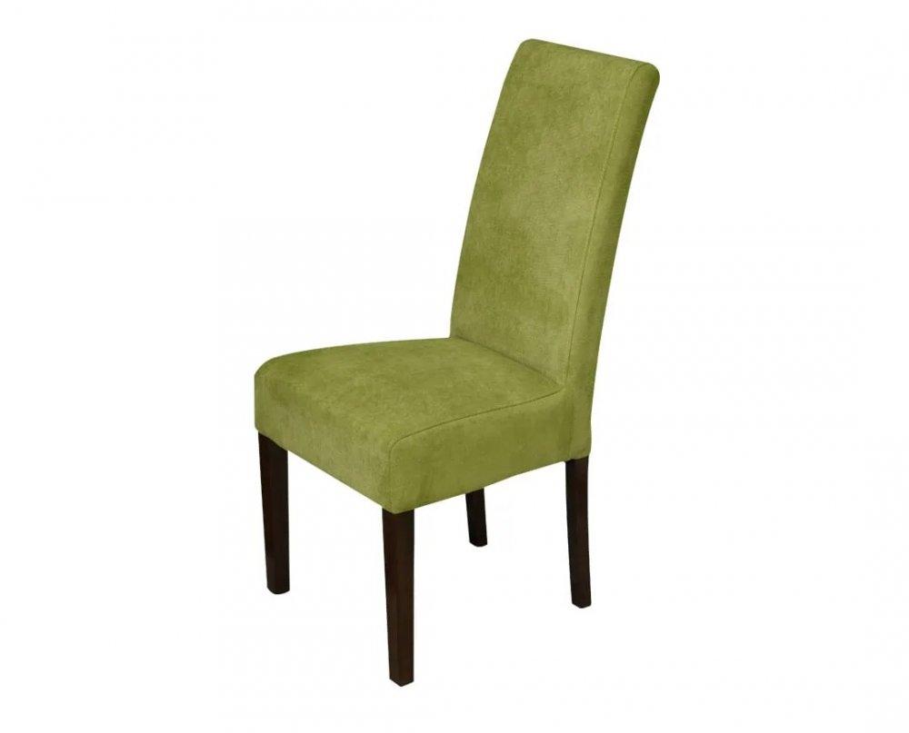 Židle S5 - tmavý dub a zelená