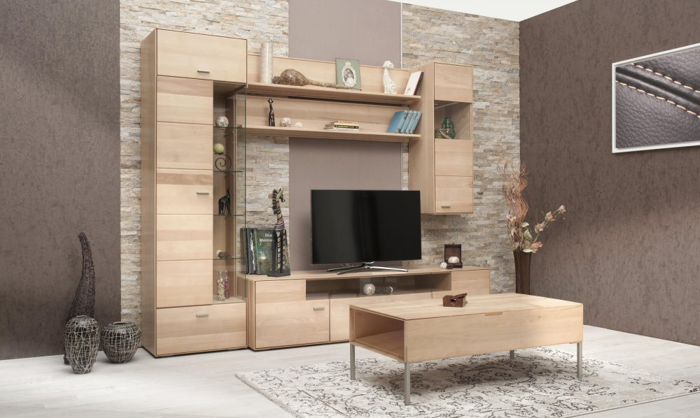 TV komoda Natura 190 - buk (vystavené zboží)
