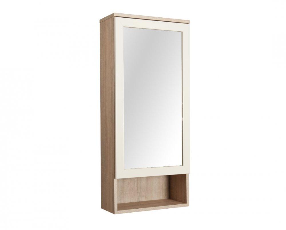 Zrcadlo Apolon PA5 MDF - dub/béžová lesk