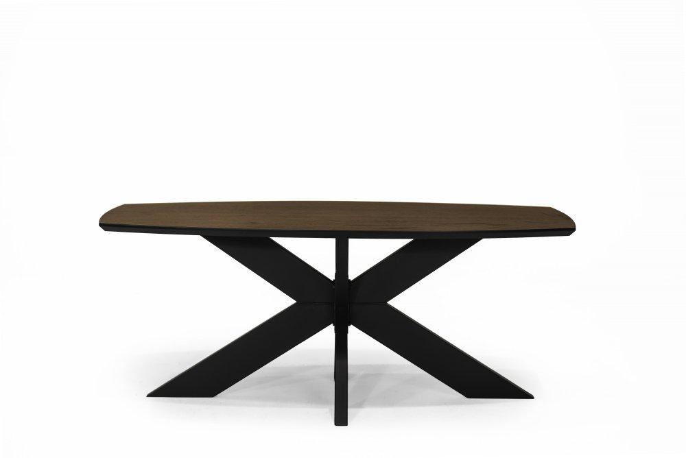 Stůl ASTON -hnědý