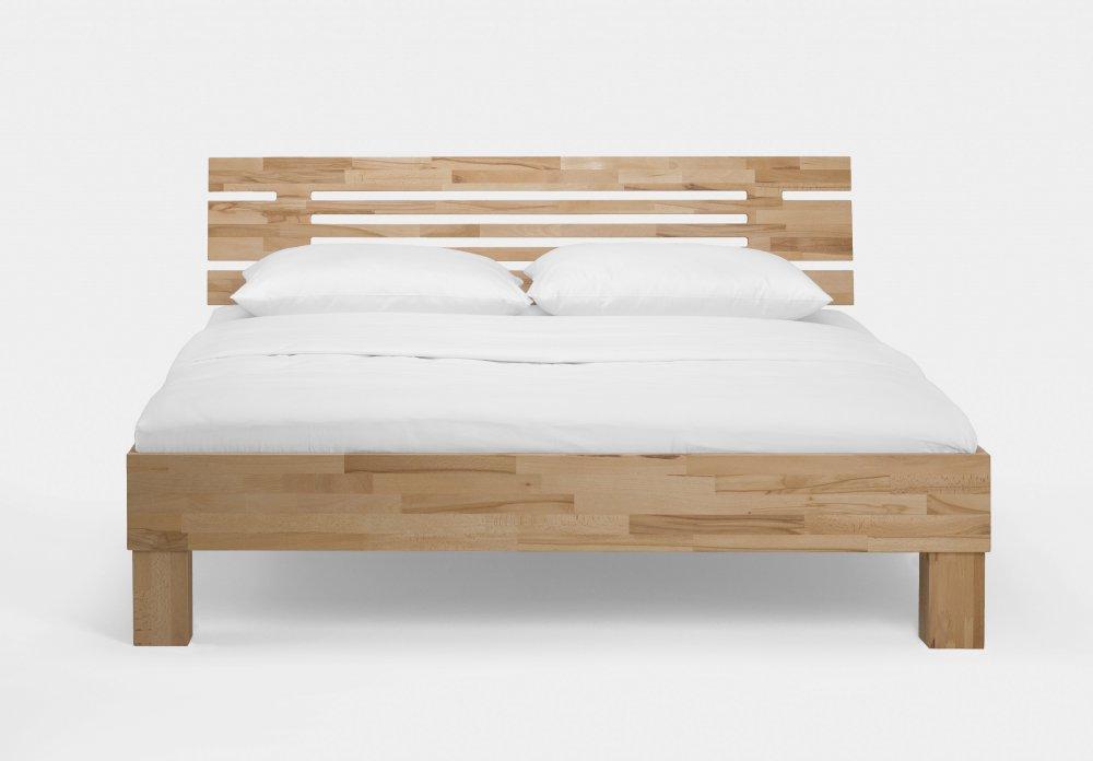 Dvoulůžková postel Classic system 330.KT - (masivní jádrový buk)