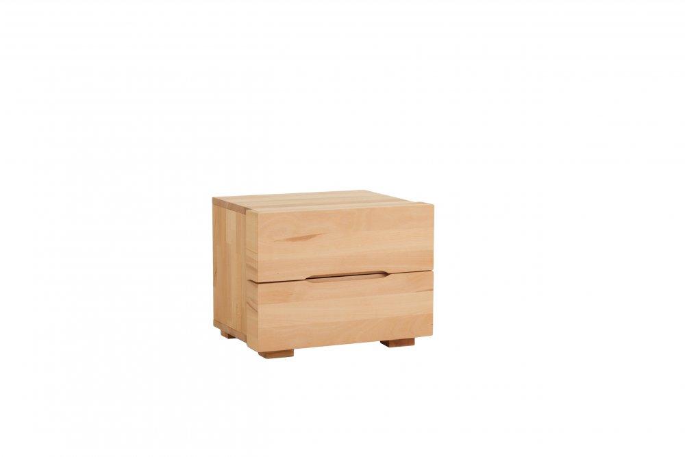 Noční stolek Select standart system - 63(masivní jádrový buk)