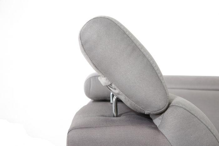 Rohová sedací souprava do U OPAL - bílá