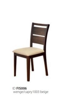 Židle Gradel - wenge / béžová
