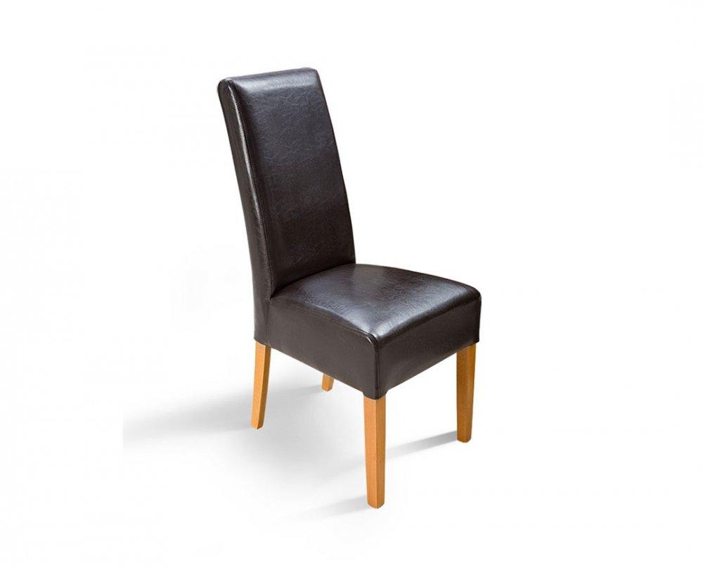 Židle Palma - malteze/třešeň