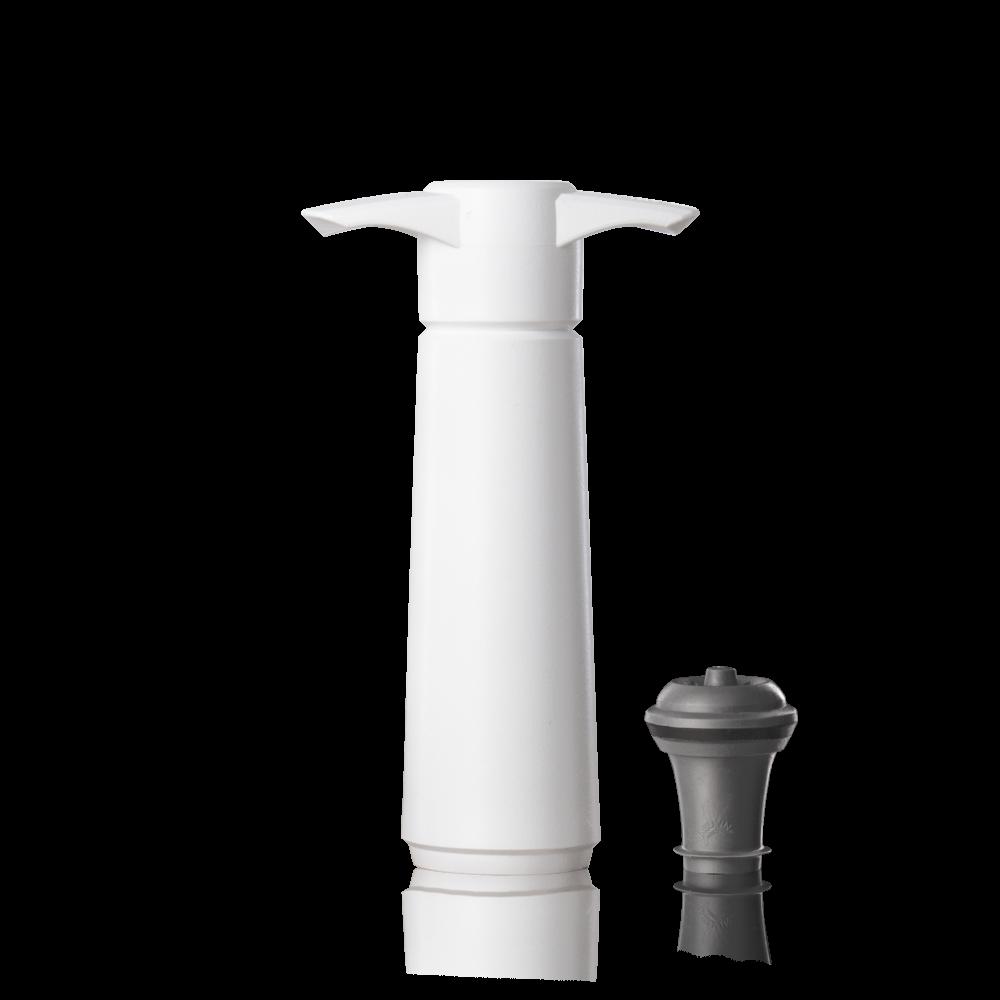 Vakuová pumpa bílá (pumpička + 1 vaku špunt)