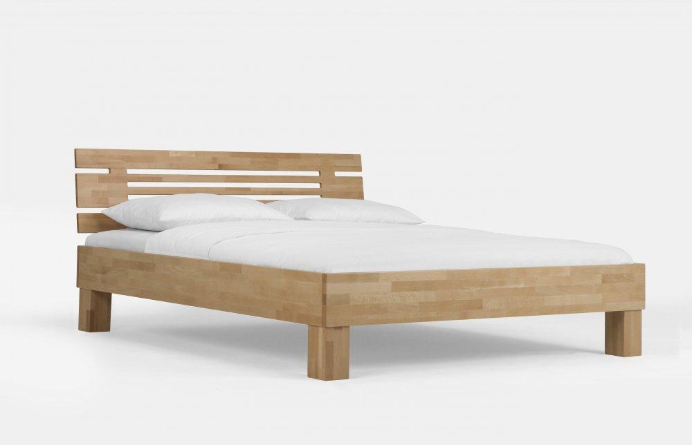 Dvoulůžková  postel Classic system 330.KT  (masivní lakovaný buk)