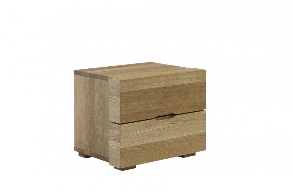 Noční stolek Select standart system - 63(masivní divoký dub)