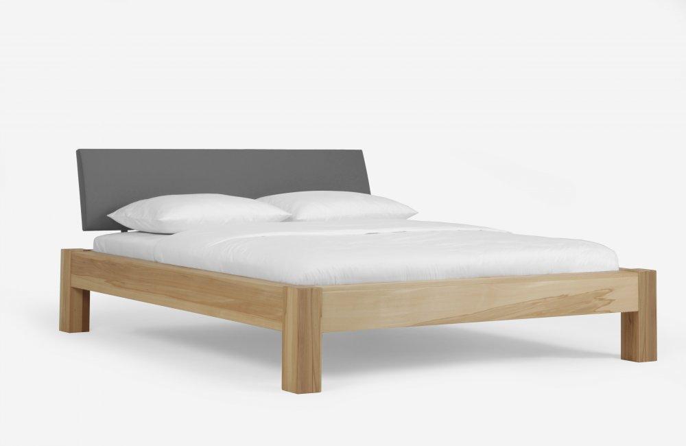 Dvoulůžková postel Select Premium system 380.KT - (masivní jádrový buk)