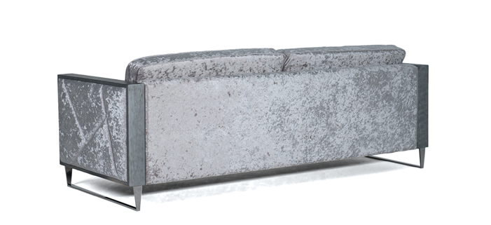 Trojsed TIFFANY - stříbrný