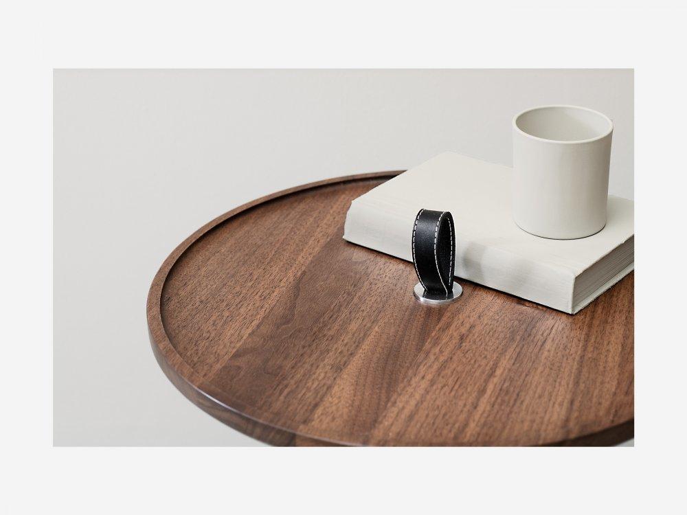 Konferenční stolek MALIN - kulatý