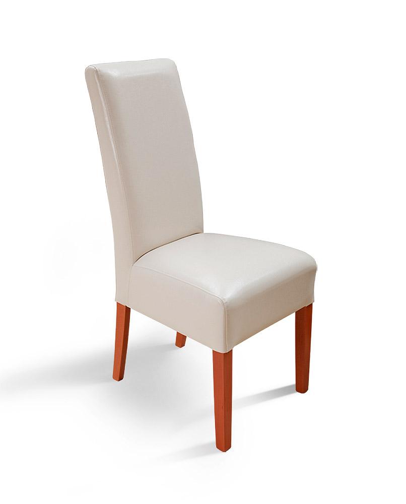 Židle Palma - béžová/třešeň