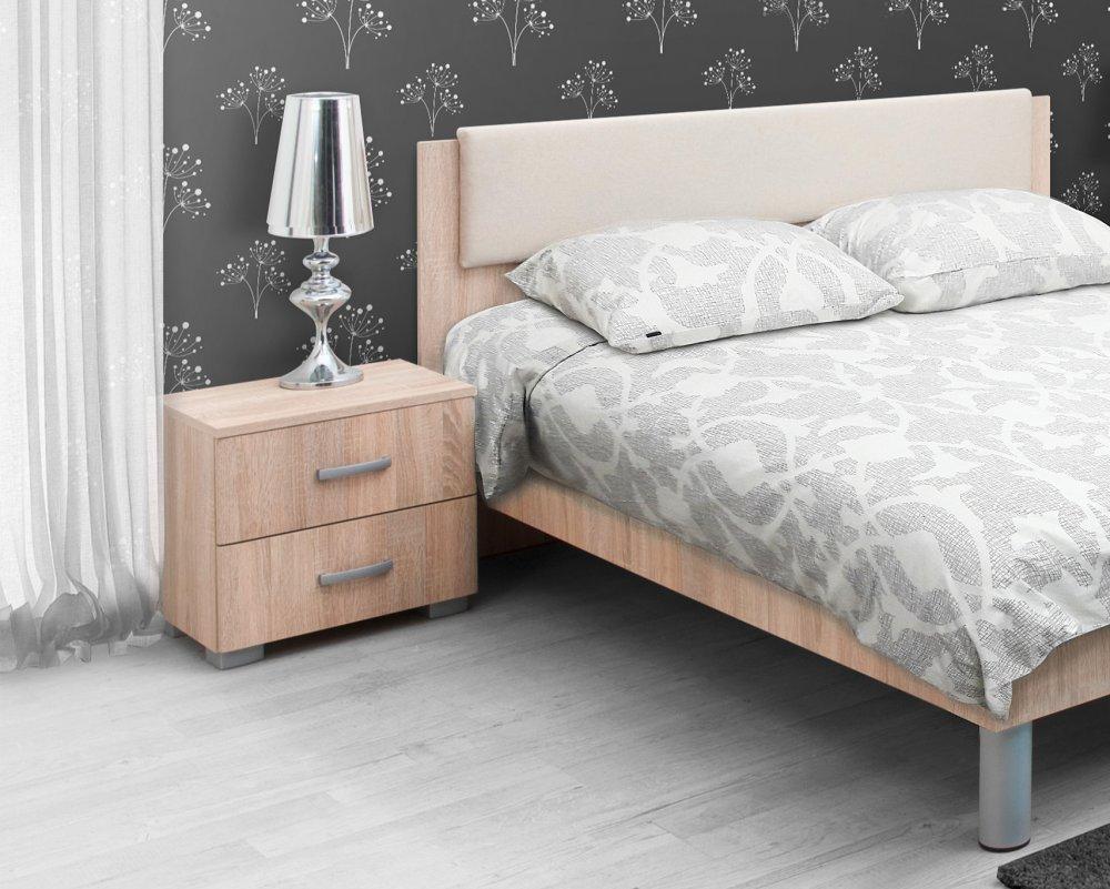 Noční stolek Matis 2F - dub