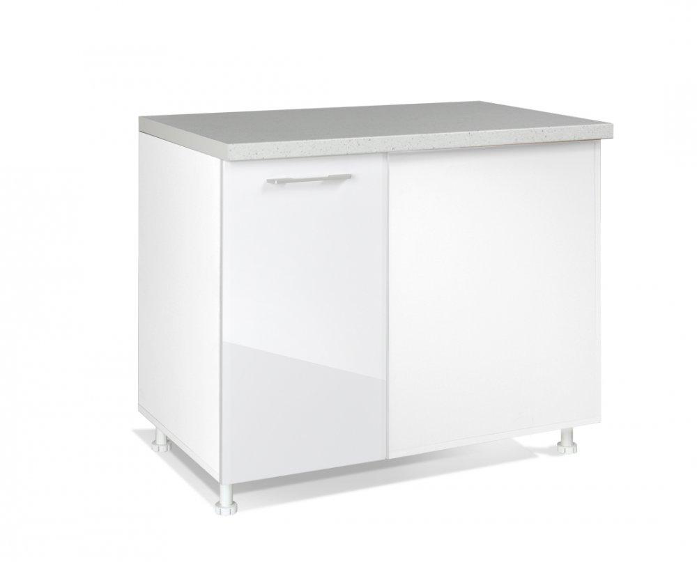 Spodní skříňka IN MDF DU 100 - bílá lesk