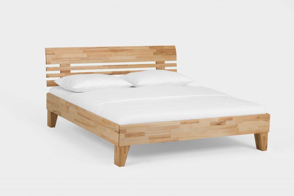 Dvoulůžková postel Avantgarde system 333.KT - (masivní jádrový buk)