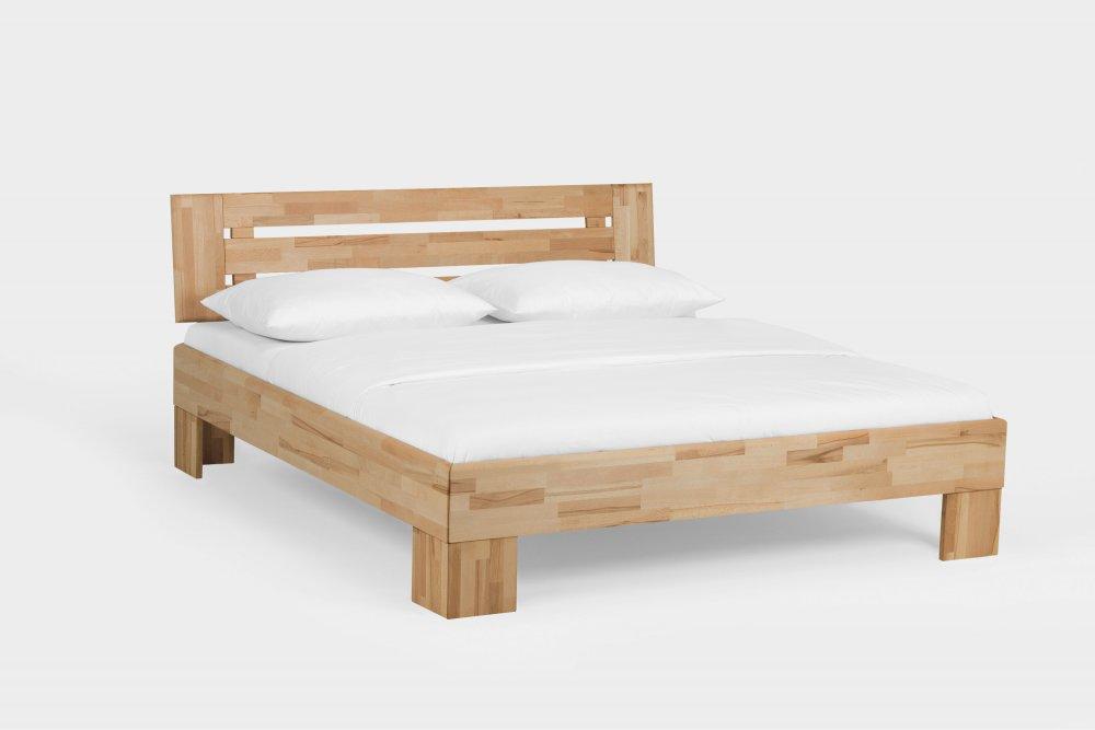Dvoulůžková postel Avantgarde system 390.KT - (masivního jádrový buk)