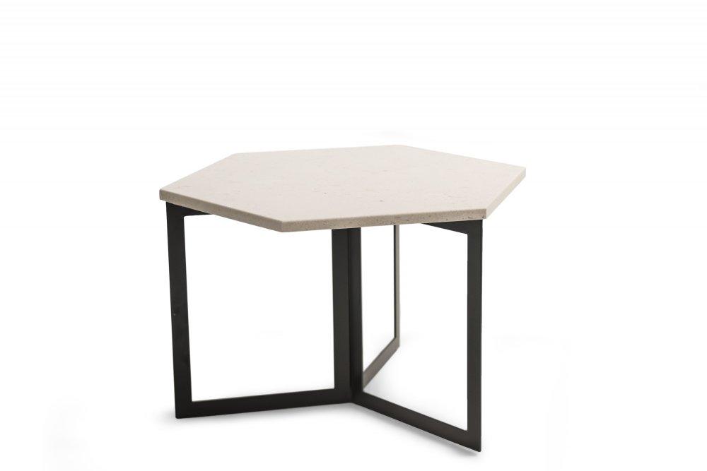 Konferenční stolek BEE - béžový