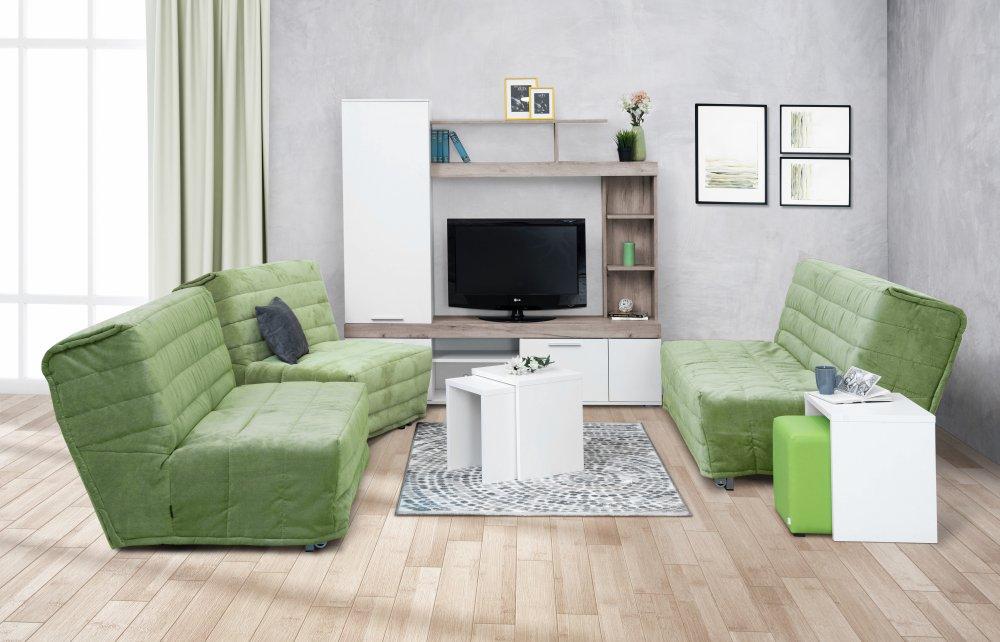 Dvojsed Soft - zelená
