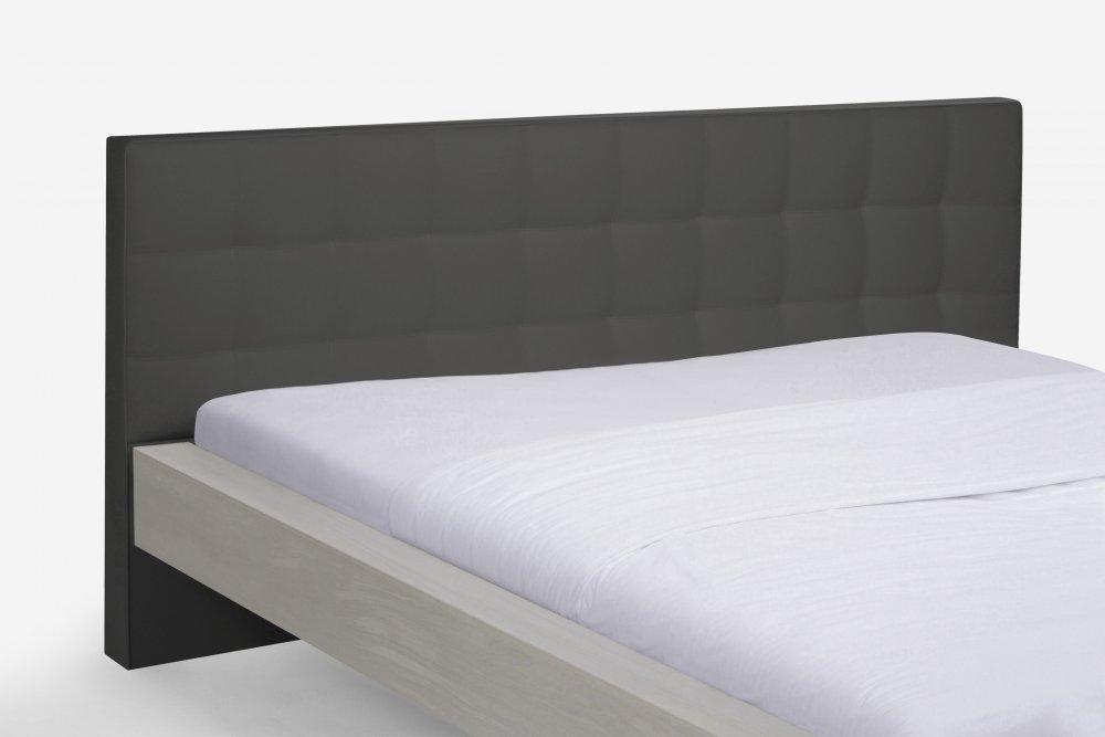 Dvoulůžková postel Select Standart system 381.KT - (masivní divoký dub - bílá)