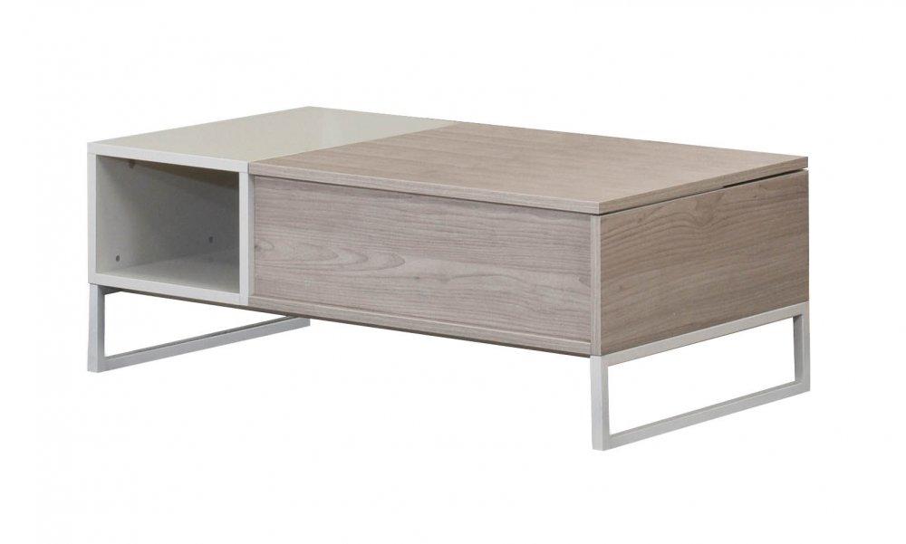 Konferenční stůl Pegas - dub Nordic a písek